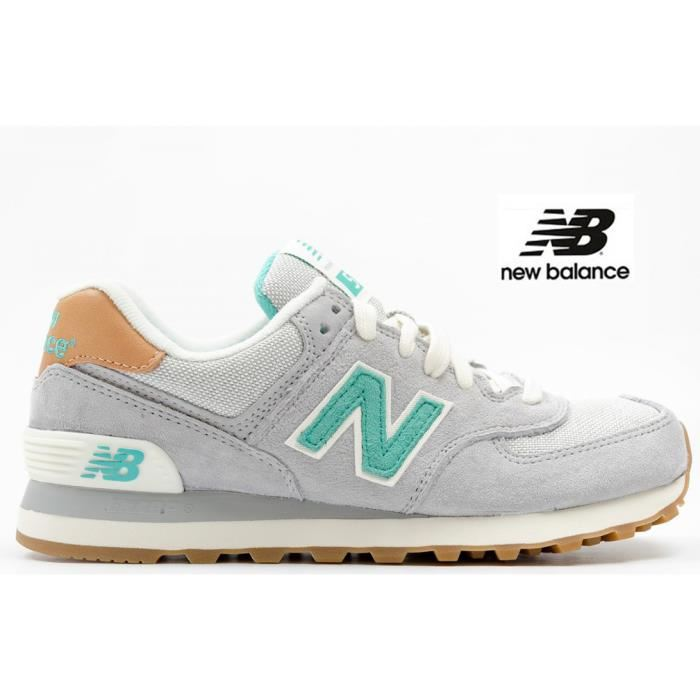 basket fille new balance scratch